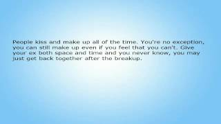 Getting Back Together After a Breakup - Just Give Your Ex Some Space.avi